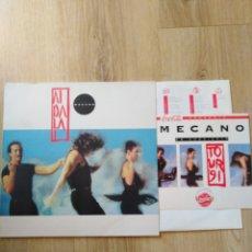 Discos de vinilo: MECANO-AIDALAI-CONTIENE ENCARTE Y PEGATINA PROMOCIONAL DE LA GIRA DE 1991 COCACOLA. Lote 174515063