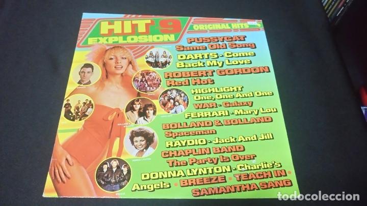 HIT EXPLOSION VOL.9 BUEN ESTADO DIFICIL (Música - Discos de Vinilo - Maxi Singles - Pop - Rock Internacional de los 70)