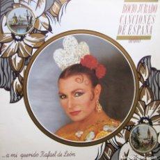 Discos de vinilo: ROCIO JURADO - CANCIONES DE ESPAÑA INÉDITAS. Lote 174531705