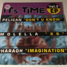 Discos de vinilo: IT'S TIME EP VOL.3. Lote 174533049