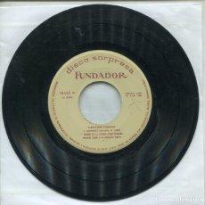 Discos de vinilo: MARCAS COMERCIALES - FUNDADOR 10.062 (CANCION CUBANA) EP 1964. Lote 289783148