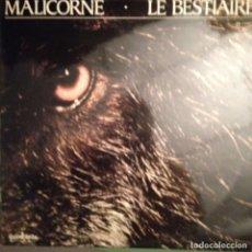 Disques de vinyle: MALICORNE ?– LE BESTIAIRE GUIMBARDA ?– GS-11067 CON LIBRETO INTERIOR. Lote 174568492