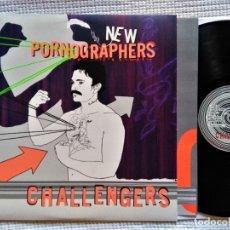Discos de vinilo: THE NEW PORNOGRAPHERS - '' CHALLENGERS '' LP + INNER USA 2007. Lote 44823324