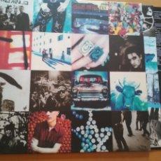 Discos de vinilo: U2 ACHTUNG BABY LP INSERTO + LETRAS. Lote 174570380