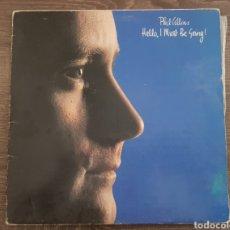 Discos de vinilo: PHIL COLLINS - HELLO I MUST BE GOING DISCO VINILO LP EDICIÓN ESPAÑOLA 1982. Lote 174570758