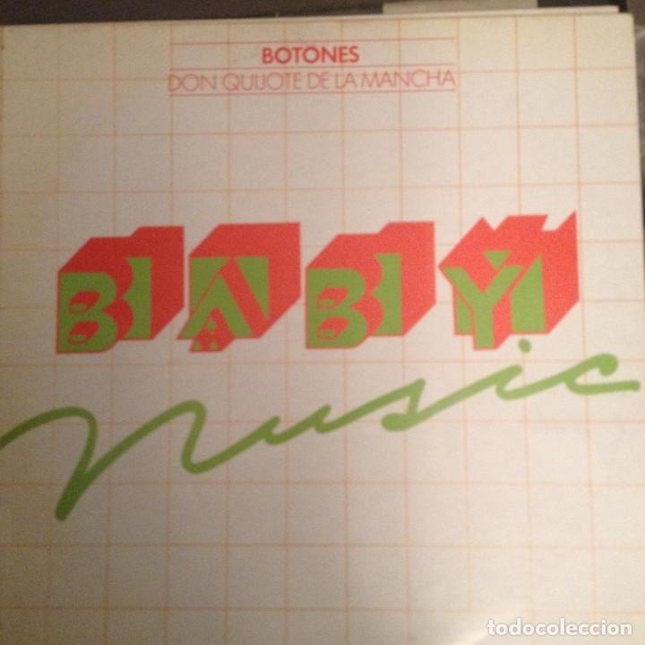 BOTONES - DON QUIJOTE DE LA MANCHA BABY MUSIC 1979 LP RARO REGALO DE FUNDADOR (Música - Discos - LPs Vinilo - Música Infantil)