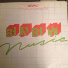 Discos de vinilo: BOTONES - DON QUIJOTE DE LA MANCHA BABY MUSIC 1979 LP RARO REGALO DE FUNDADOR. Lote 174572944