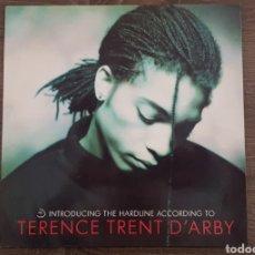 Discos de vinilo: TERENCE TRENT D'ARBY - INTRODUCING THE MACHINE ACCORDING TO - DISCO VINILO LP AÑOS 80. Lote 174572954