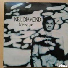 Discos de vinilo: NEIL DIAMOND - LOVESCAPE (LP) 1991. Lote 174574928