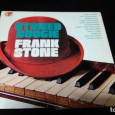 Discos de vinilo: FRANK STONE - STONED BOOGIE BUEN ESTADO DIFICIL. Lote 174576428