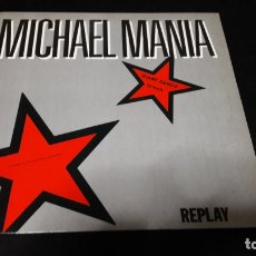 Disques de vinyle: MICHAEL MANIA A TRIBUTE TO MICHAEL JACKSON BUEN ESTADO. Lote 174576572