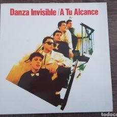 Discos de vinilo: DANZA INVISIBLE - A TU ALCANCE - DISCO DE VINILO ORIGINAL 1988. Lote 174577895