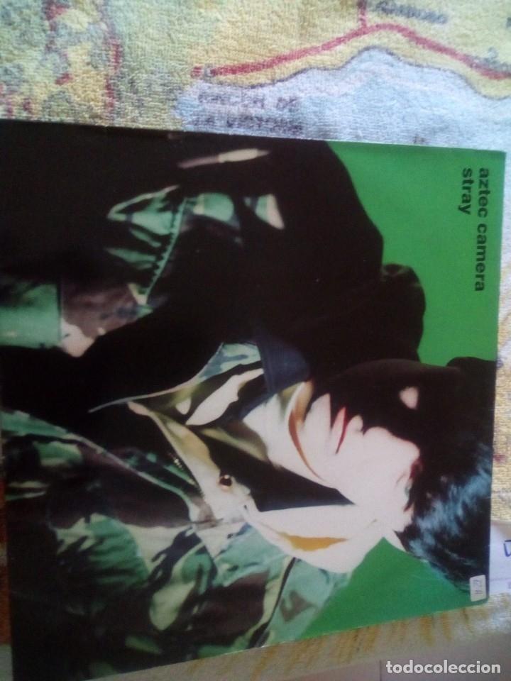 AZTEC CAMERA - STRAY LP 1990 WEA GERMANY (Música - Discos - LP Vinilo - Otros estilos)