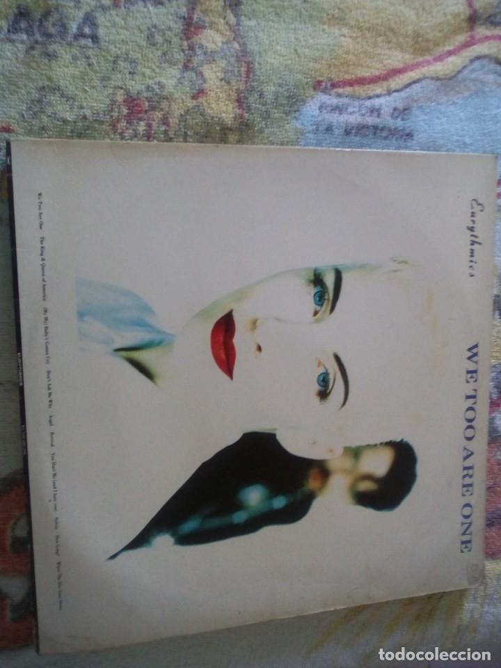 EURYTHMICS - WE TOO ARE ONE, RCA ESPAÑA 1989 (Música - Discos - LP Vinilo - Otros estilos)