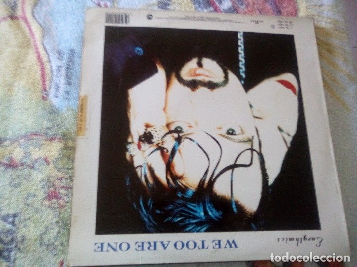 Discos de vinilo: EURYTHMICS - WE TOO ARE ONE, RCA españa 1989 - Foto 2 - 174581215