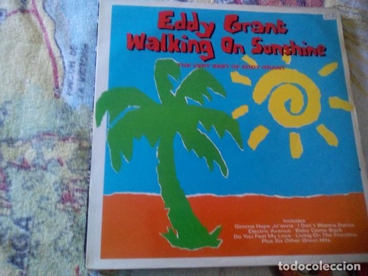 EDDY GRANT - WALKING ON SUNSHINE ,HISPAVOX 1989 ESPAÑA (Música - Discos - LP Vinilo - Otros estilos)