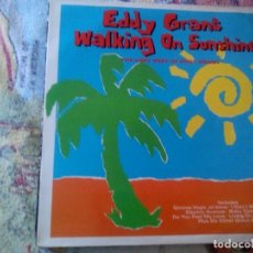 Discos de vinilo: EDDY GRANT - WALKING ON SUNSHINE ,HISPAVOX 1989 ESPAÑA. Lote 174581288