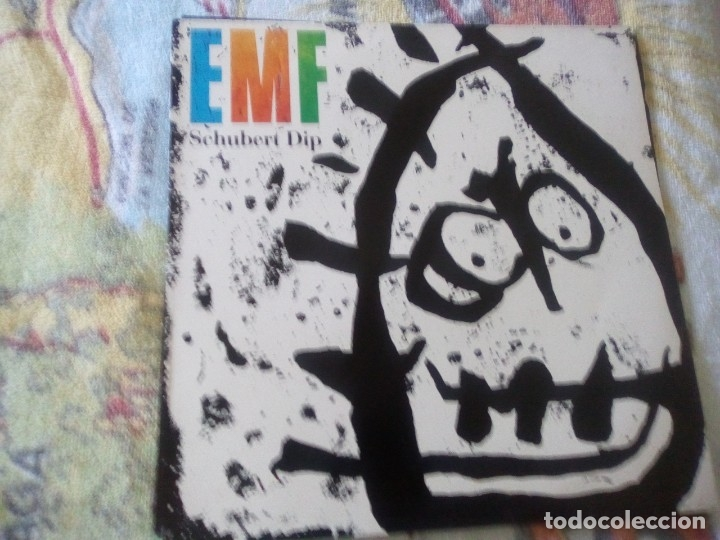 EMF - SCHUBERT DIP, PARLOPHONE 1991 ESPAÑA (Música - Discos - LP Vinilo - Otros estilos)