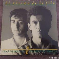 Discos de vinilo: EL ÚLTIMO DE LA FILA - COMO LA CABEZA SOMBRERO DISCO VINILO 1988. Lote 174581688