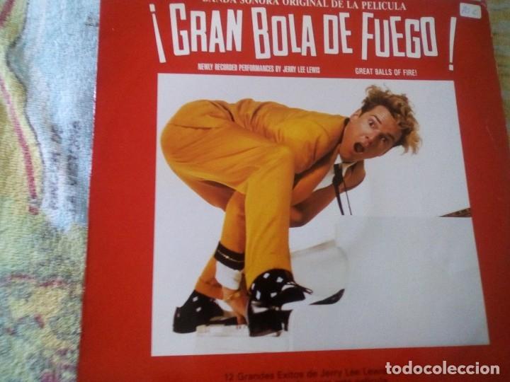 ¡GRAN BOLA DE FUEGO! -JERRY LEE LEWIS (1989 POLYDOR) SPAIN EDITION (Música - Discos - LP Vinilo - Otros estilos)