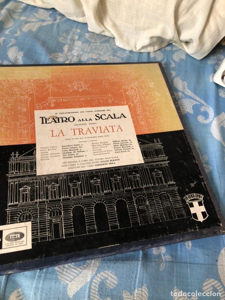 TEATRO ALLA SCALA LA TRAVIATA (Música - Discos de Vinilo - Maxi Singles - Clásica, Ópera, Zarzuela y Marchas)