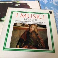 Discos de vinilo: IMUSICI VIVALDI. Lote 174592042