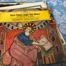 Discos de vinilo: BACH PASION SEGÚN SAN MATEO. Lote 174592317