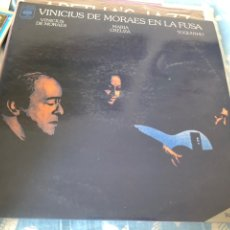 Discos de vinilo: VINICIUS DE MORAES EN LA FUSA. Lote 174593252