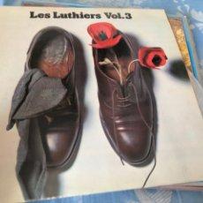 Discos de vinilo: LES LUTHIERS VOL 3. Lote 174593505