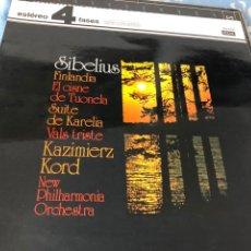 Discos de vinilo: SIBELIUS FINLANDIA. Lote 174594043