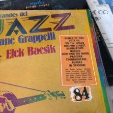 Discos de vinilo: LOS GRANDES DE JAZZ STEPHANE GRAVELLI. Lote 174597160
