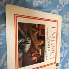 Discos de vinilo: O MUSICI VIVALDI. Lote 174608324