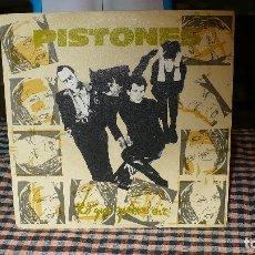 Discos de vinilo: PISTONES - LO QUE QUIERES OIR / ULTIMO SOLDADO, ARIOLA 1984.. Lote 174631630