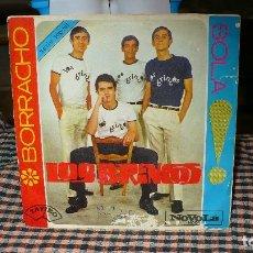 Discos de vinilo: LOS BRINCOS - BORRACHO / SOLA, NOVOLA ZAFIRO 1965.. Lote 174636655