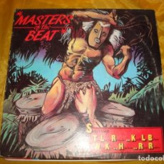 Discos de vinilo: VARIOUS. MASTERS OF THE BEAT. TOMMY BOY, 1985 . (#). Lote 174636990
