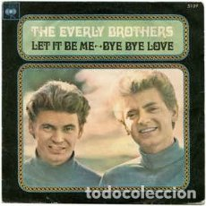 Discos de vinilo: THE EVERLY BROTHERS. LET IT BE ME. BYE BYE LOVE. MRVB. Lote 254134755