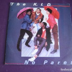 Discos de vinilo: THE K.I.D. SG CBS 1981 - NO PARES / DO IT AGAIN - DISCO ELECTRONICA - FUNK 80'S - . Lote 174642962