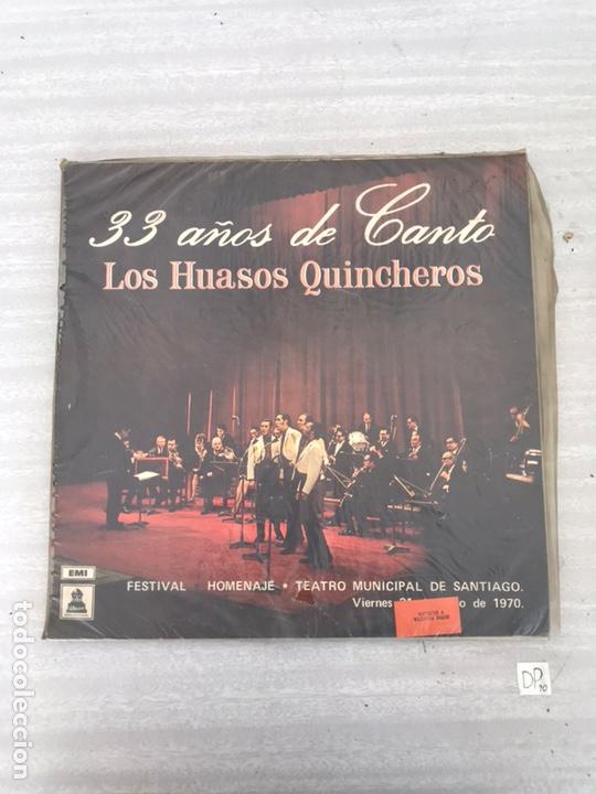LOS HUASOS QUINCHEROS 33 AÑOS DE CANTO (Música - Discos - LP Vinilo - Cantautores Extranjeros)