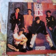 Discos de vinilo: NEW KIDS ON THE BLOCK STEP BY STEP 1990 CBS ED ESPAÑOLA. Lote 174699967