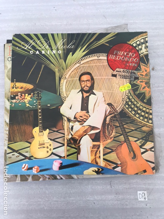 AL DI MEOLA : CASINO (Música - Discos - LP Vinilo - Cantautores Extranjeros)