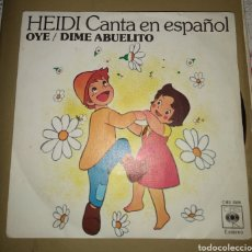 Discos de vinilo: HEIDI CANTA EN ESPAÑOL - OYE. Lote 174730254