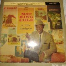 Discos de vinilo: NAT KING COLE - A MIS AMIGOS. Lote 174837043