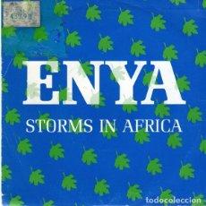 Discos de vinilo: ENYA – STORMS IN AFRICA - SINGLE PROMO SPAIN 1989. Lote 221235248