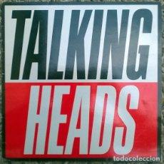 Discos de vinilo: TALKING HEADS. TRUE STORIES. EMI, SPAIN 1986 LP + ENCARTE. Lote 174861354