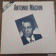 Discos de vinilo: ANTONIO MACHIN DISCO DOBLE VINILO RAREZA EXCELENTE ESTADO. Lote 174863708