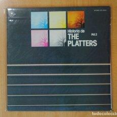 Discos de vinilo: THE PLATTERS - HISTORIA DE THE PLATTERS VOL 2 - GATEFOLD - 2 LP. Lote 174871477