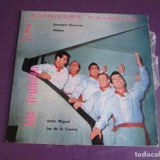 Discos de vinilo: LOS IRUÑA KO EP ZAFIRO 1959 - ESTAMPAS NAVARRAS - 1 ER EP SIN APENAS USO - FOLK POP. Lote 174874938