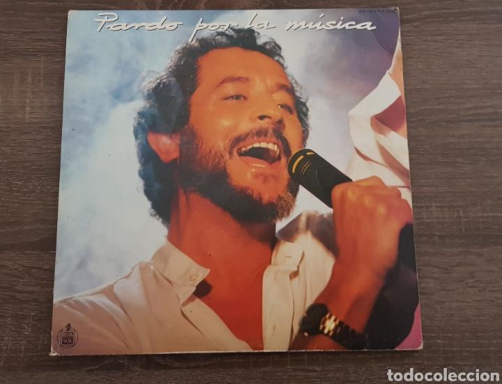 JUAN PARDO - POR LA MUSICA - DISCO VINILO HISPAVOX 1985 LP (Música - Discos - LP Vinilo - Solistas Españoles de los 70 a la actualidad)