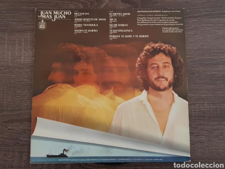 Discos de vinilo: JUAN PARDO MUCHO MAS DISCO VINILO 1980 LP HISPAVOX - Foto 2 - 174882585