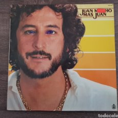 Discos de vinilo: JUAN PARDO MUCHO MAS DISCO VINILO 1980 LP HISPAVOX. Lote 174882585